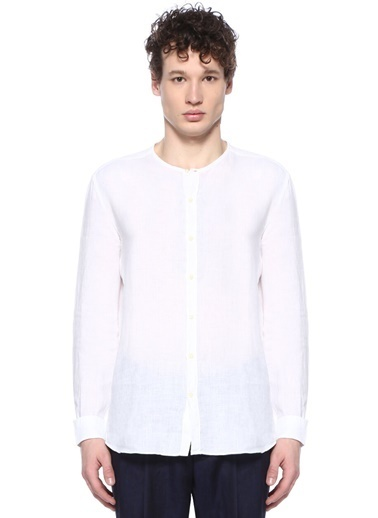 Corneliani Id Gömlek Beyaz